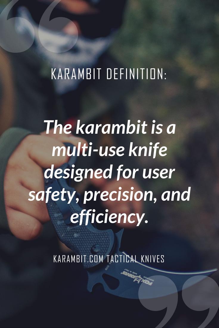 Karambit Definition